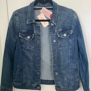 NWT Juicy Couture Studded Denim Jacket Size S